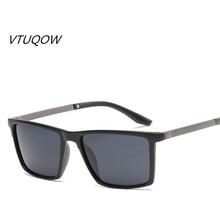 Cuadrado de lujo de Los Hombres gafas de Sol de 2018 Nuevo Diseño de Marca de Gran Tamaño de la Vendimia Gafas de Sol de moda Para Hombres hombres Gafas gafas de sol UV400