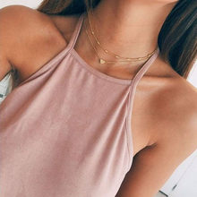 Stylish Wild Necklace Women Clothing Accessories Necklace Collarbone Chain High Quality Trendy Pendant Necklace Jewelry GD L0325(China)