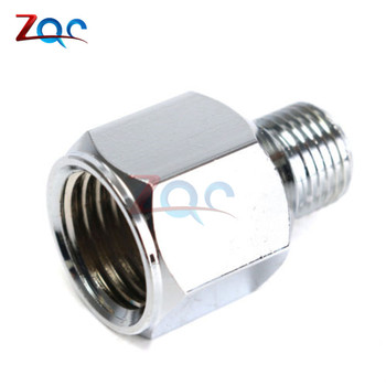 1/4 BSP Female to 1/8 BSP Male Fitting Conversion Adapter Bushing Connector for Airbrush Hoses and Compressors image