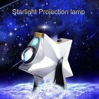Popular Stars Twilight Sky Novelty Night Light Projector Lamp LED Laser Light Dimmable Flashing Atmosphere Christmas Bedroom