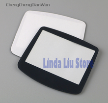ChengChengDianWan 20 stks 100 stks zwart plastic screen lens voor gameboy advance GBA