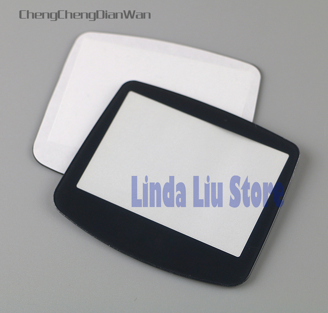 ChengChengDianWan 20pcs 100pcs black plastic screen lens for gameboy advance GBA