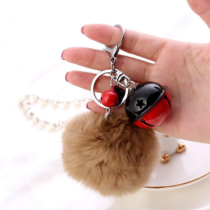 Fur Ball Key Chain (6)