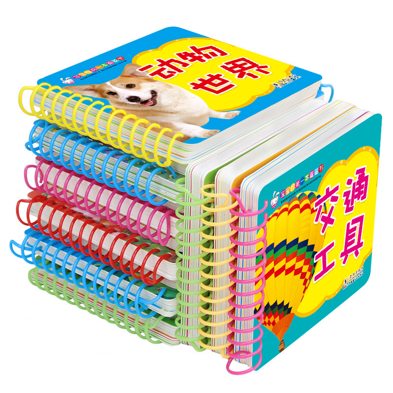 10 Pcs/set Baby Kids Children Learning Books Chinese English Learning Cards Baby Early Learning Reading Cards Literacy Cards