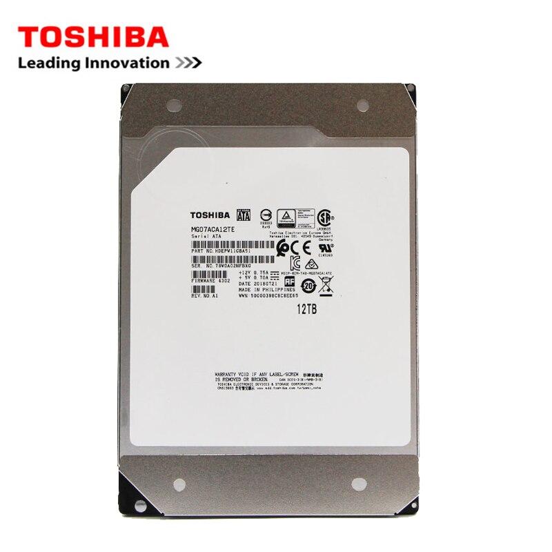 Disco duro interno TOSHIBA Enterprise 12TB 3,5