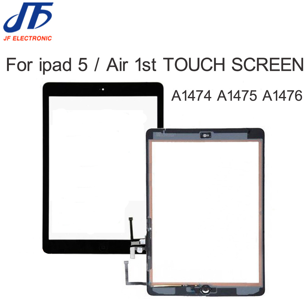 Replacement parts For iPad 5 Air 1 a1474 a1475 a1476 Touch Screen Digitizer panel Assembly with