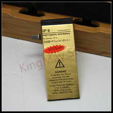 цена на Do Dower High Capacity For iphone 6 battery for iPhone 6 golden battery ip6