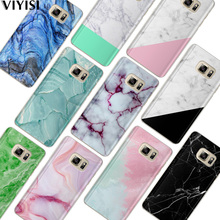 VIYISI For Samsung Galaxy s8 A5 2017 Case S9 Plus Phone case Cover J7 J5 J3 A3 2015 2016 S6 S7Edge Marble Fundas Coque