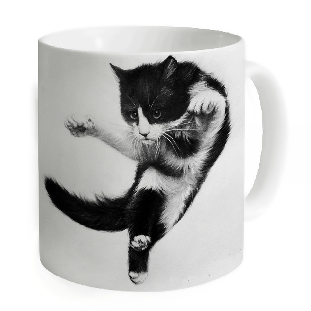 Unique Mugs For Sale Part - 39: Hot Sale Mugs Coffee Unique Ceramic Juice Milk Tea Mug Drinking Home Office  Travel Jumping Cat