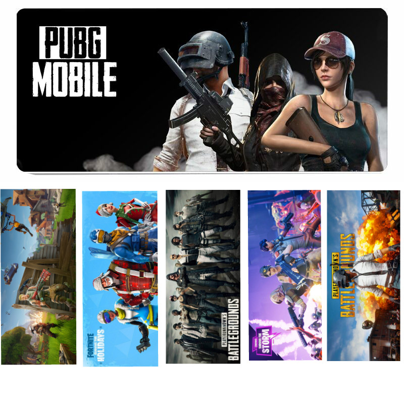 Fortnite Gaming Mouse Pad PUBG Playerunknown's Battlegrounds Large Gaming Mouse Mats Pad Computer Keyborad Mouse Mat cloth eva computer mouse pad grass green black