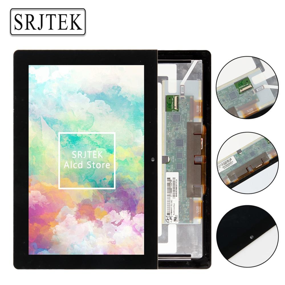 Srjtek For Sony tablet S SGPT111 SGPT112 SGPT113 SGPT114 LCD Display Touch Screen Digitizer Sensor Full Assembly Replacement srjtek for lenovo ideatab s5000 lcd display touch screen digitizer assembly replacement parts