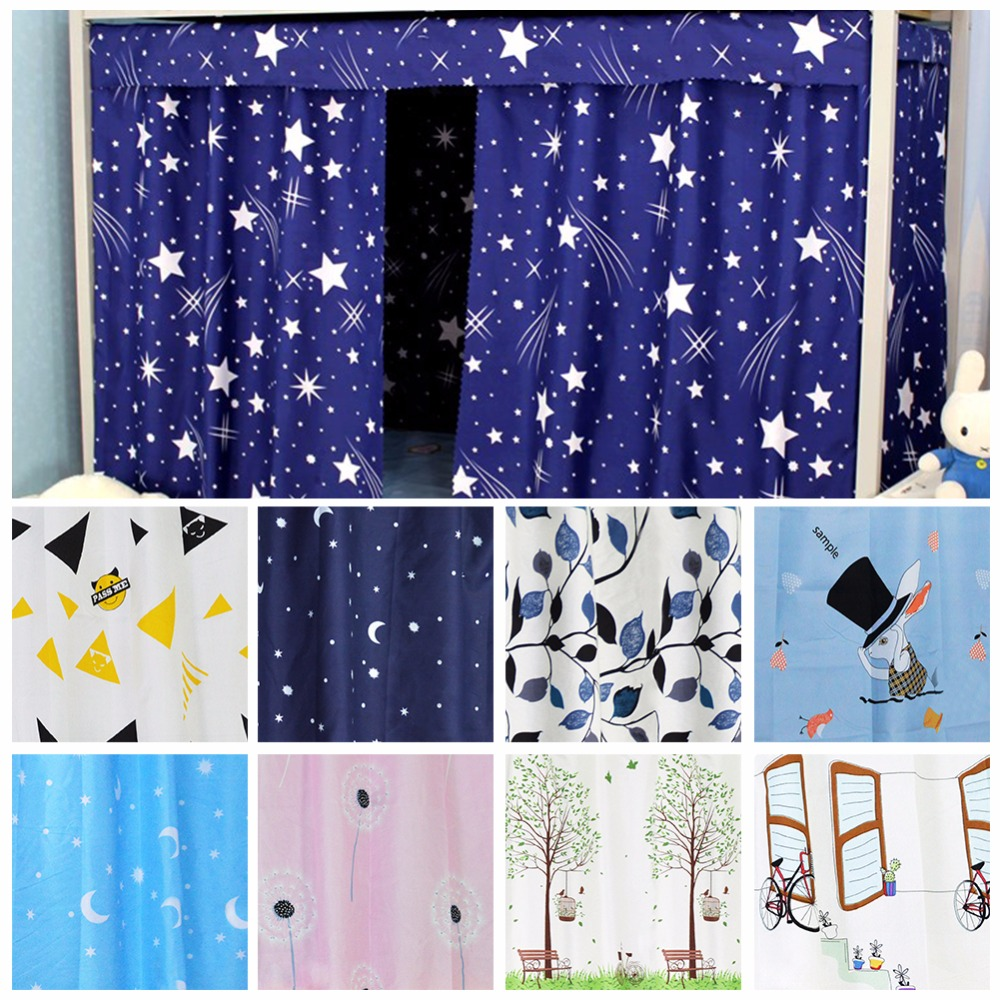 1Pc Bunk Beds Shade Cloth Curtain Curtains Bed Mantle Mosquito Net  Student Dormitory Bed Nets, Bed Curtain #269704