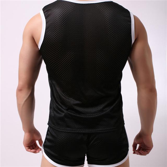 New Fashion Sportsuit and Tee vest Set Mens T Shirt Shorts + Short Pants Men Summer Tracksuit Men Casual Brand Tee Shirts
