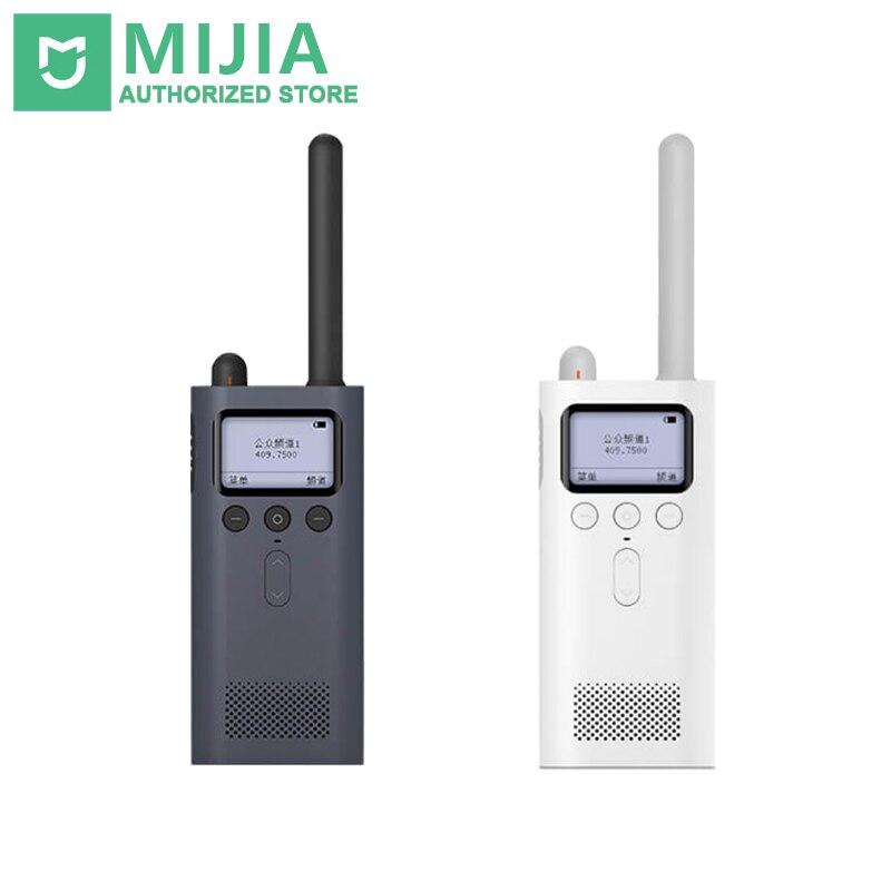 Original Xiaomi Mijia Smart WalkieTalkie FM Radio 8 Dayds Standby-Smartphone APP Lage Teilen Schnelle Team Sprechen