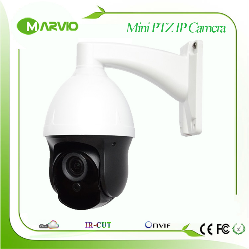 960P 1.3MP Mini Speed dome PTZ IP Network camera AutoFocal 2.8-12mm 4X Zoom Lens Good Night Vision Max 50m IR Distance 4 in 1 ir high speed dome camera ahd tvi cvi cvbs 1080p output ir night vision 150m ptz dome camera with wiper