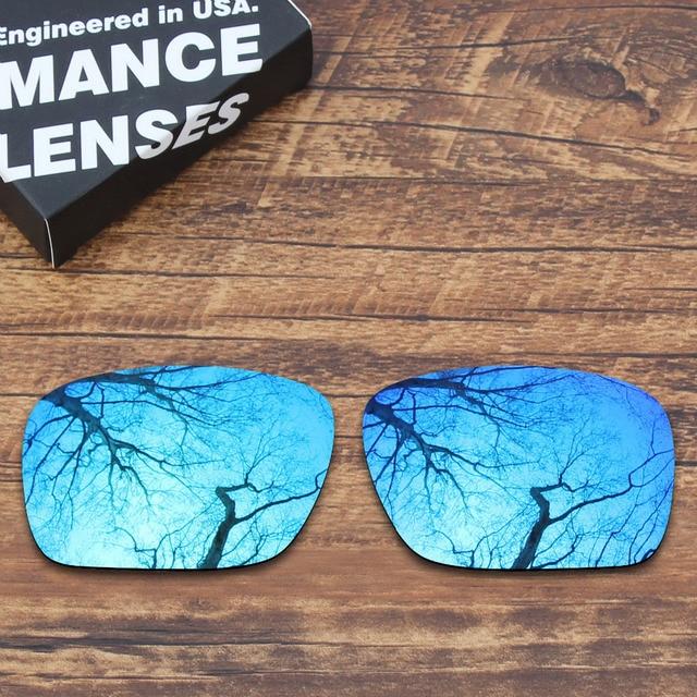 7ba801cdca Lentes de repuesto polarizadas para gafas de sol azul con espejo de roble  Holbrook (solo
