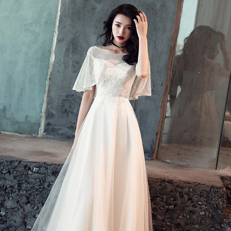 Elegant White Qipao Full Length Cheongsam Dress Vestidos Chinos Oriental Evening Gowns Classic Party Dress Big Size XS-3XL