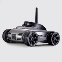 RC Car With Camera WIFI Mini RC Tank 0.3MP HD Camera Remote Control Toys For IOS System RC Devices With Light Best Boys Gift