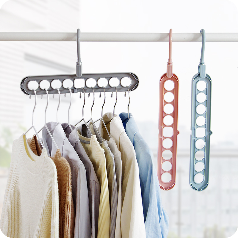 Vanzlife Indoor Tie Hanger Plastic Clothes Hanger For Belt Household Balcony Storage Scarf Holder Head Scarf Hanger For Trousers
