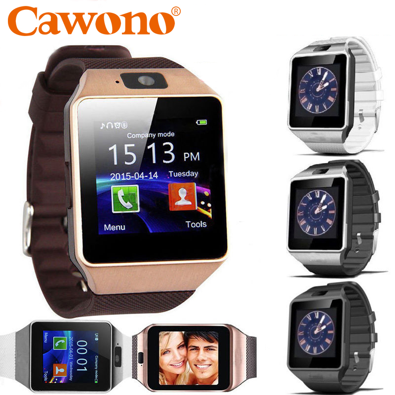 Cawono Bluetooth Smart Watch DZ09 Relojes Smartwatch Relogios TF SIM Camera for IOS iPhone Samsung Huawei Xiaomi Android Phone bluetooth smart watch uc08 smartwatch sim card reloj inteligente support hebrew for iphone samsung huawei xiaomi android ios