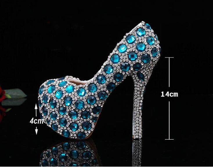 Buy sparkle shoes blue and get free shipping on AliExpress.com 747d38c37ff4