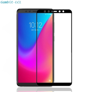 "Image 1 - 2 sztuk dla Lenovo K5 Pro 5.99 ""L38041 K5pro 2018 szklany ekran Protector pełna pokrywa szkło hartowane ochronne 9H 2.5D szklana folia"
