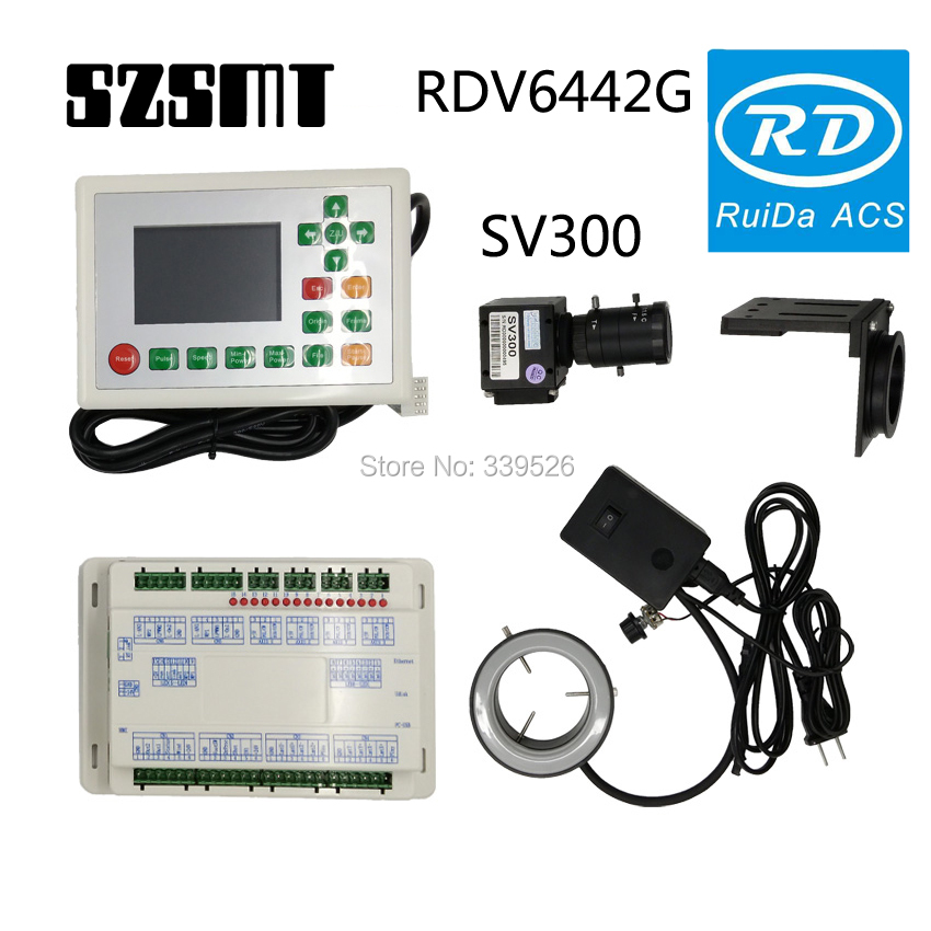 Ruida RDV6442G CCD Camera   Motion Control System For  Laser Cutting And Engraving Machine