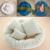 4 Pçs/set Posando Adereços Fotografia Do Bebê Recém-nascido Travesseiro Enchimento Cesta Donut de Trigo
