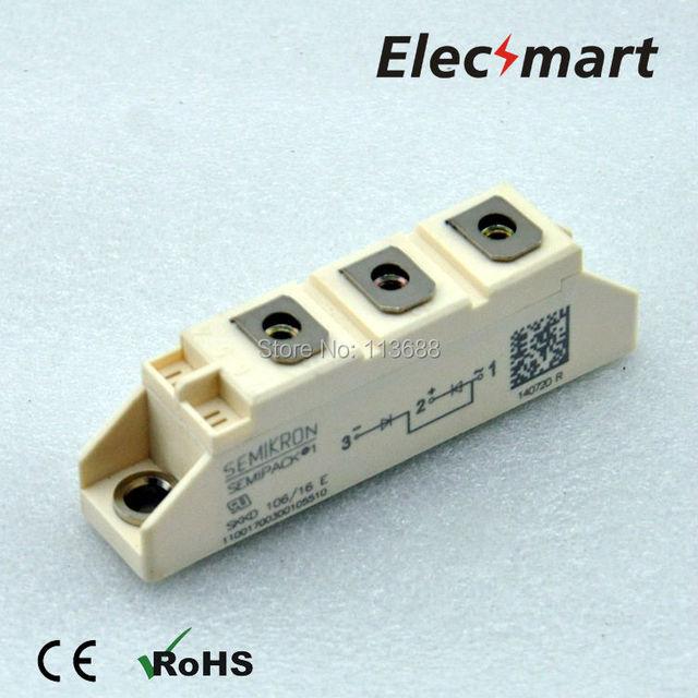 Semikron Power Rectifier Diode Modules SKKD106/16