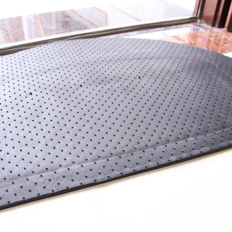 Tapis de porte mode tapis européen en caoutchouc antidérapant haute qualité tapis motif Rose pour salon chambre salle de bain décoration de la maison - 6
