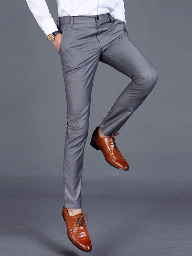 Las 8 Mejores Pantalones De Vestir De Moda Para Hombre List And Get Free Shipping Di3b69hk