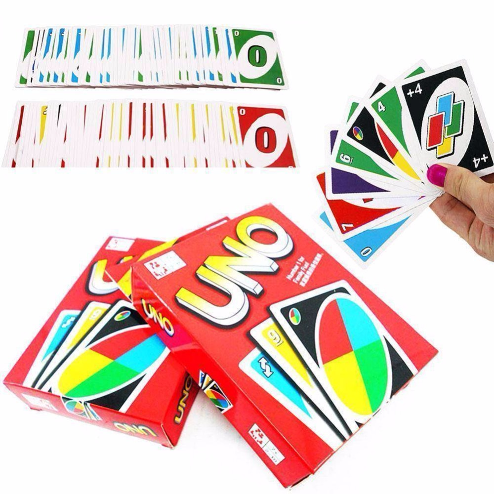 108 Playing Cards Family Children Friends Entertainment Board Game Standard Fun Poker Playing Puzzle Intelligence Game Tool