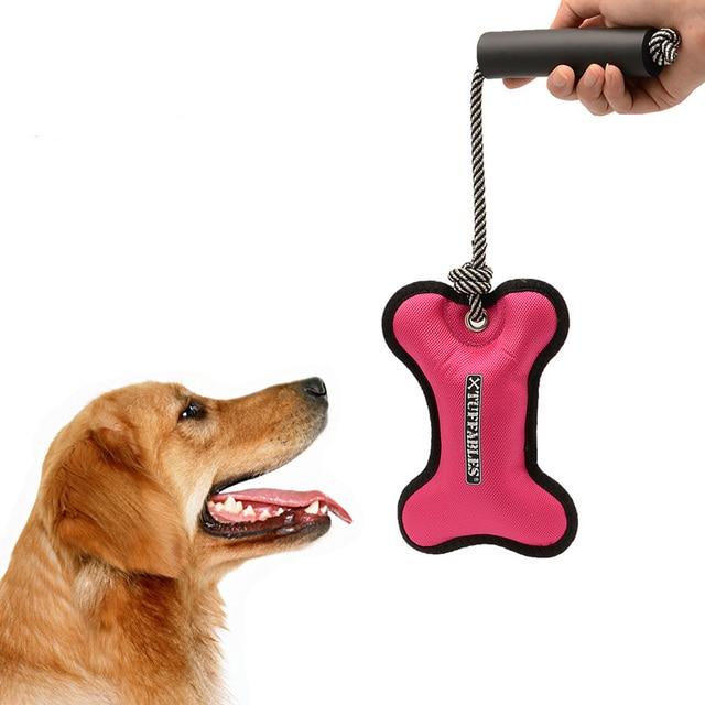 Muy interesante perro jugar Juguetes 2 colores Oxford Telas masticar ...