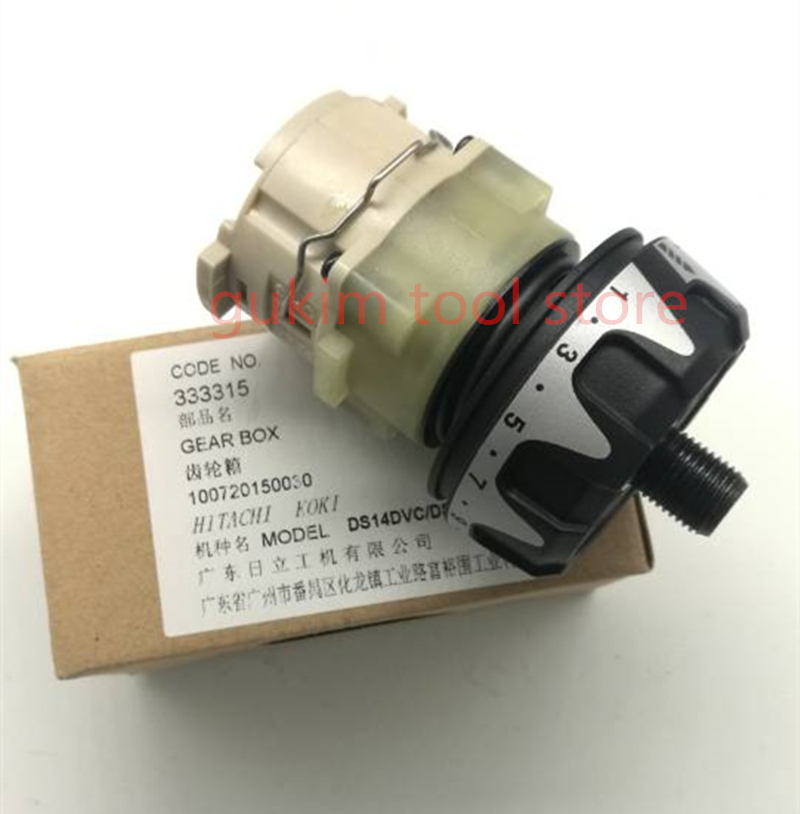 Reducer GEAR BOX ASS'Y 333315 For HITACHI DS18DVC DS18DSFL DS18DCL DS14DVC DS14DSFL DS14DCL Drill Machine suunto essential ceramic all black