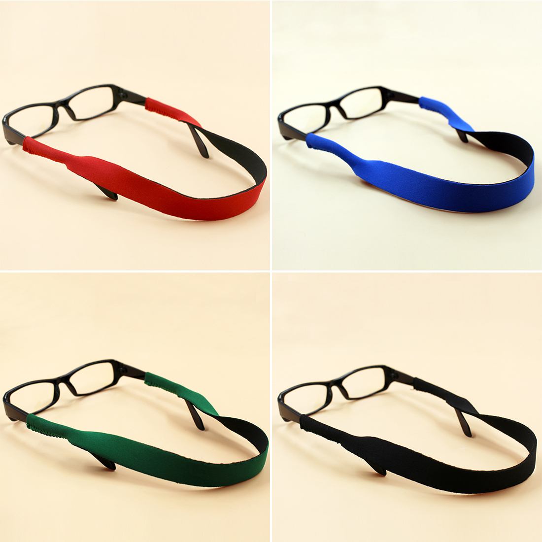 Fashion Glasses  Anti-slip Rope Summer Sunglasses Band Strap Neoprene String Rope Eyeglasses Strap Cool  Glasses Accessories