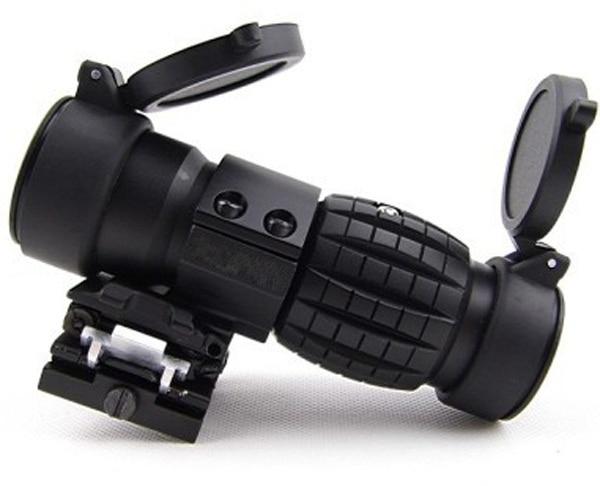ציוד ציד טקטית Airsoft רובה היקף 3x זכוכית - ציד