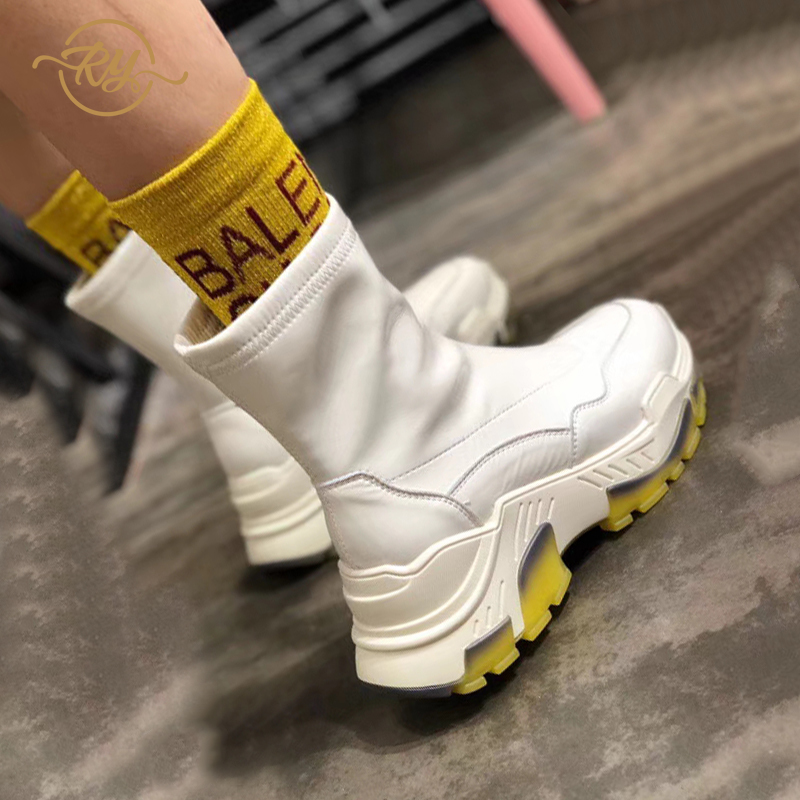 RY-RELAA Womens Sneakers Shoes 2018 Fashion Platform Sneakers Designer Shoes Off White Brand Shoes Women Casual Shoes