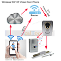 P2P Smart WiFi Wireless Video Intercom Door Phone Interphone 720P Home Security Camera Motion Sensor Night Vision IOS Android