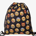 Nova moda mochila escolar impressão 3d viagem softback man wonmen mochila feminina harajuku saco de cordão mochilas unissex