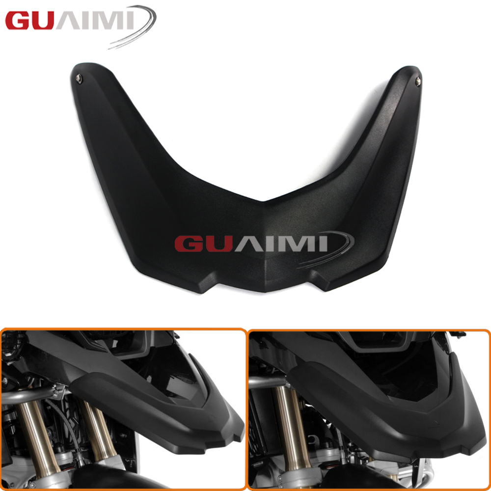 For BMW R1200 GS 2014 2015 2016 2017 R1200GS Motorcycle Front Fender Beak Extension Wheel Cover цена