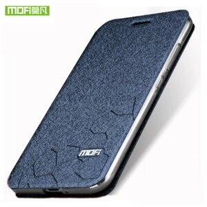 Image 1 - Original MOFi For Xiaomi Redmi 6A Case Redmi 6 TPU Leather Flip Cover Business Case Silicon Protect Luxury For Redmi 6 Pro Case