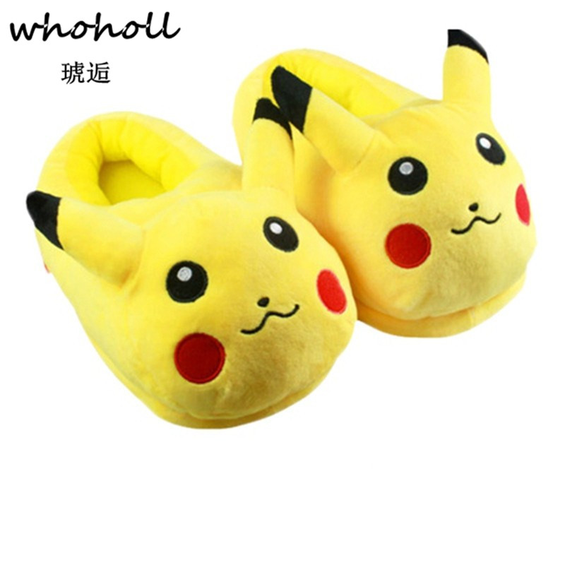 Long-haired Rabbit Slippers Home Plush Thick-Soled Warm Wool Slippers Home Christmas New Year Thanksgiving Gift