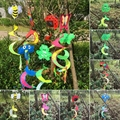 Tier Spirale Windmühle Bunte Wind Spinner Rasen Garten Hof Im Freien Dekor Neue|Dekorative Einsätze & Windspinner|Heim und Garten -