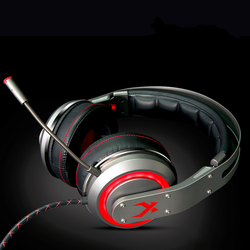Top Quality XIBERIA T19 Vibration Gaming Headset With Mic Super Stereo Bass PC Gamer Headphones With LED Light For PC Computer xiberia v10 computer gaming headphone super bass stereo headset with microphone led light luminous earphone for pc gamer