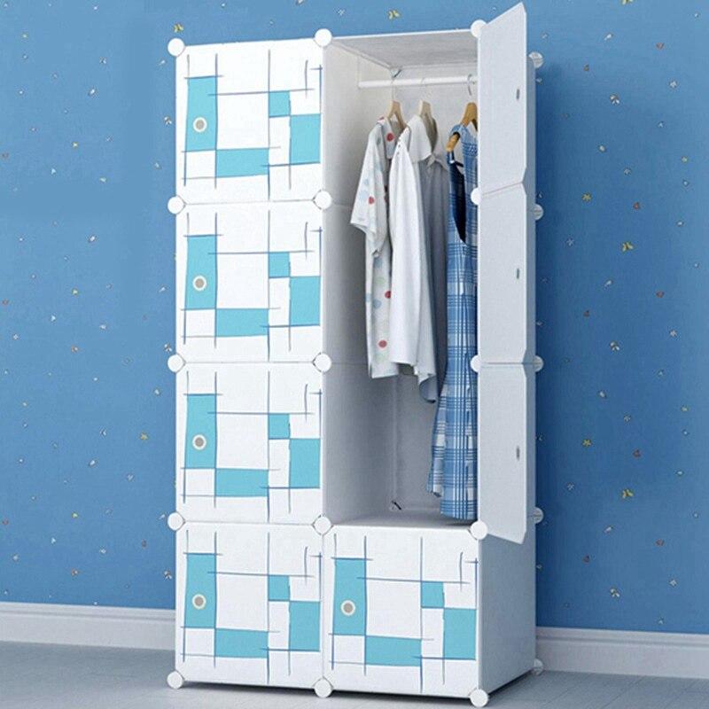 Kreative Kunststoff DIY Kleiderschrank Schlafzimmer Möbel ...