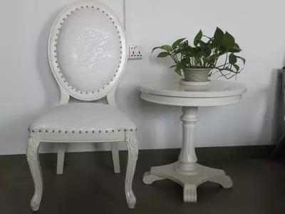 Promoção Europeu antigo mesa redonda de madeira pequena mesa de café mesa de café mesa redonda
