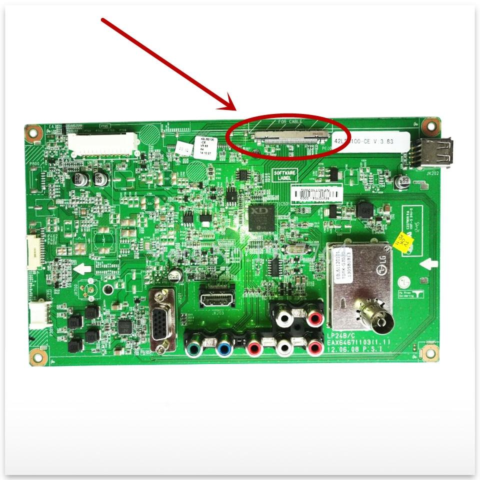 цена 100% new Original for 42CS410 42CS411-AT main board EAX64671103 (1.1)