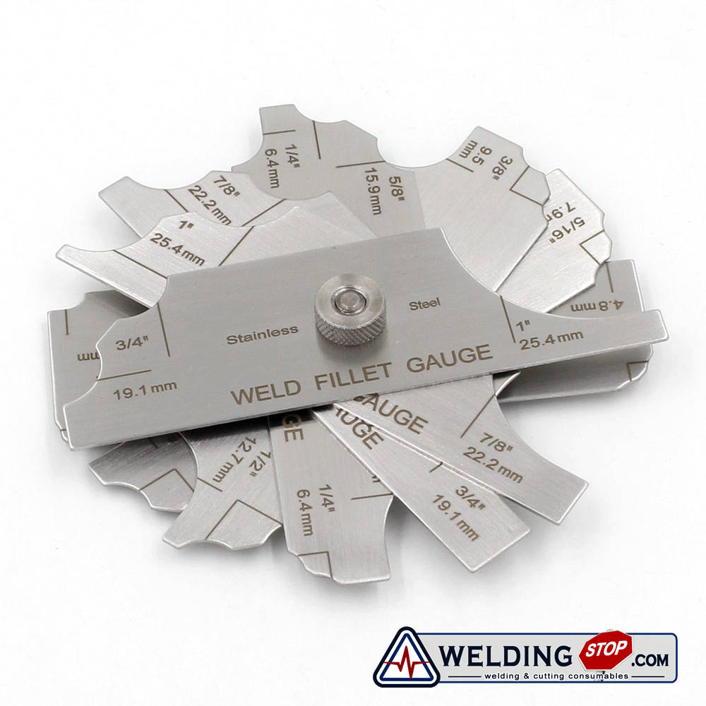 MG-11 welding fillet Gage inspection welding gauge (Metric&Standard)