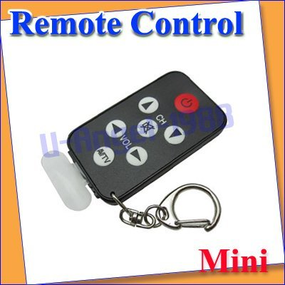 NEW Mini Keychain Universal Remote Control for TV Set Universal TV Remote Control +free shipping