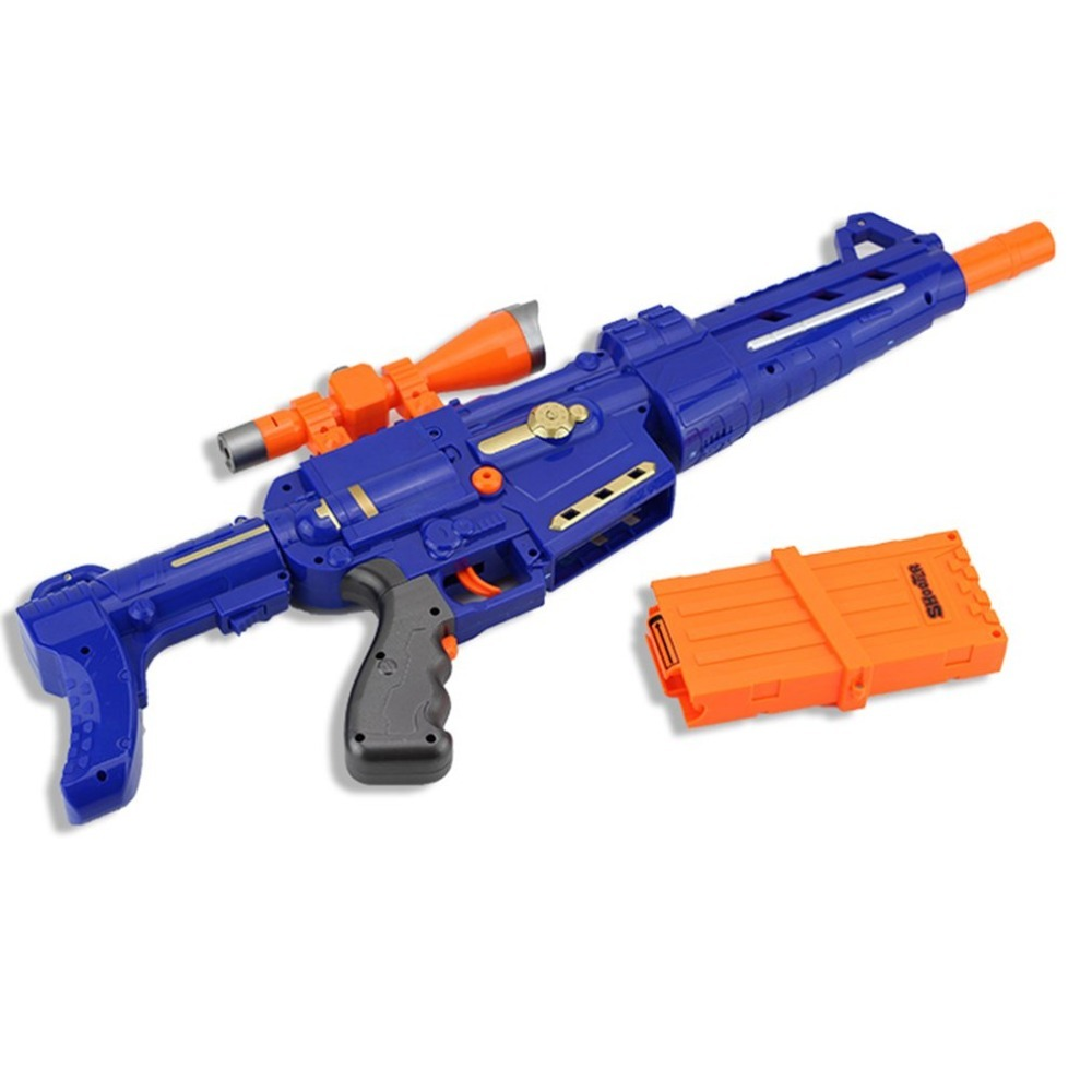 OCDAY Soft Bullet Electric Toy Gun Suit Outdoor Shooting Serial Target Toy Gun Plastic Rifle Toys For Children Gift arma orbeez
